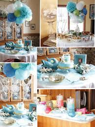 interior design awesome beach themed bridal shower decorations