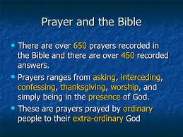 prayer great prayers in the bible
