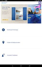 deuts che bank meine bank android apps on play