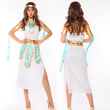 Cleopatra Halloween Costumes Adults Buy Wholesale Egyptian Goddesses Halloween Costume