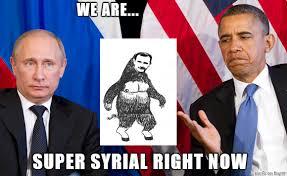 Obama Putin Meme - obama meets putin funny