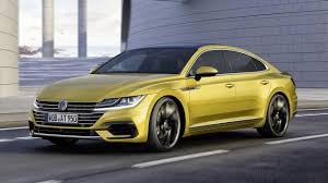 volkswagen passat coupe the volkswagen arteon looks like no other vw top gear