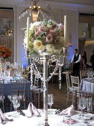 wedding centerpieces candelabras with flowers candis floral