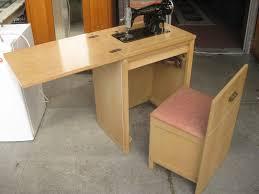 White Sewing Machine Cabinet by Uhuru Furniture U0026 Collectibles Sold Universal Sewing Machine