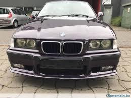 bmw m3 decapotable bmw m3 cabriolet 93 000km a vendre 2ememain be
