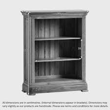 narrow bookcase white canterbury small bookcase solid oak oak furniture land