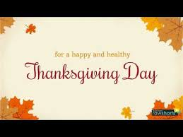 a thanksgiving thank you