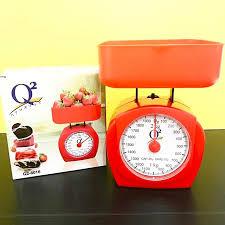 Timbangan Plastik timbangan kue kitchen scale 2 kg kapasitas 2 kg berat 300 gram