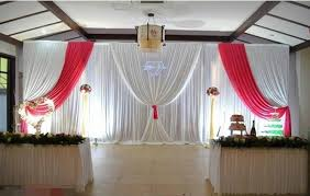 Wedding Backdrops Aliexpress Com Buy Beautiful Popular Style White Red Custom Made