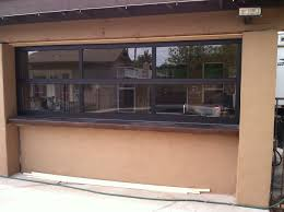 garage door phoenix glass garage doors phoenix az modern glass garage doors