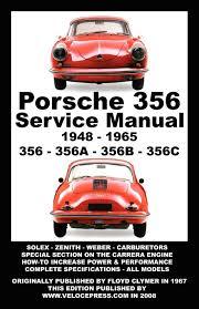 porsche 356 owners workshop manual 1948 1965 floyd clymer