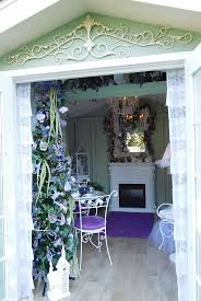 shabby cottage home decor 112 best garden she sheds inside images on pinterest shabby