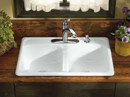 Kitchen Sink 33x22 by Standard Plumbing Supply Product Kohler K 5817 4 0 Delafield 33