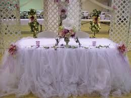 tulle decorations modern tulle wedding decorations with image 18 of 20
