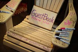 guest book ideas for wedding modern and guest book ideas las vegas wedding planners