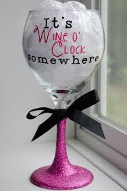 wine glass gift happy hour wine glasses shopswell