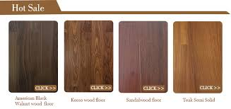 customized color used hardwood water resistant wood flooring for
