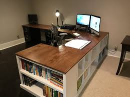 Diy Large Desk Furniture How To Build A Desk From Scratch Desks Affordable