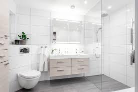 how to design a sleek modern bathroom