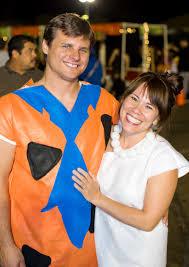 Flinstone Halloween Costume Domestic Fashionista Fred Wilma Flintstone Couple U0027s
