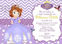 Free First Birthday Invitation Cards Il Fullxfull 496664126 3ct1 Jpg 1500 1071 Princess Sofia The