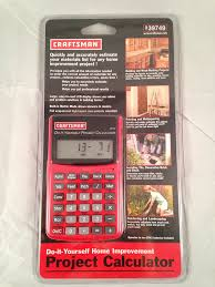 craftsman do it yourself project calculator amazon com