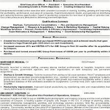 Senior Executive Resume Samples by Resume Sample 5 Senior Executive Resume Career Resumes Executive