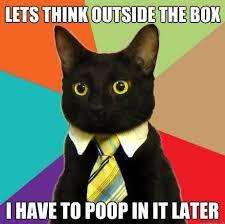 Black Box Meme - thinking outside the box funny meme funny memes