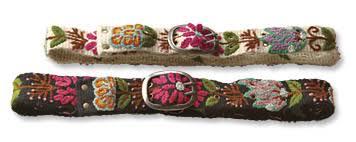 floral belt floral garden belt embroidered floral garden belt orvis