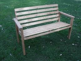 easy diy outdoor bench to make best home design ideas