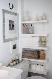 Storage Ideas Bathroom Bathroom Vanity Shelving Ideas Stylish Wall Mounted Small Shelves