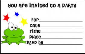 free birthday invitations free printable birthday invitation