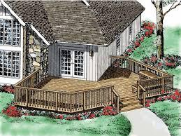 wrap around deck plans wrap around deck designs deck plan from home source
