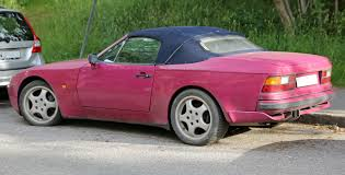 custom porsche 944 file 1990 porsche 944 cabriolet rear jpg wikimedia commons