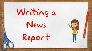sample of report writing in english creating a news report youtube