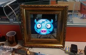 led picture frame light light up your walls with this programmable animated led picture