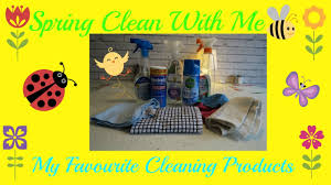 Spring Cleaning by Spring Clean With Me My Favourite Cleaning Products Day 1