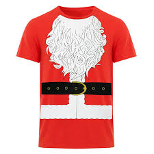 fresh tees santa claus novelty t shirt christmas