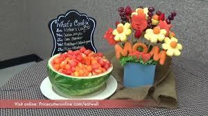 edible fruit arrangements chicago eat well s day fruit bouquet