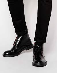 cheap leather biker boots cheap men shoes base london clapham leather military boots