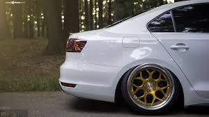 white volkswagen jetta white vw jetta rocking a set of gold avant garde wheels u2014 carid