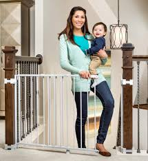 Baby Gates For Top Of Stairs With Banisters Top 10 Best Safety Gates For Stairs