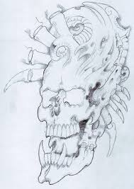 skull 308 by vikingtattoo on deviantart