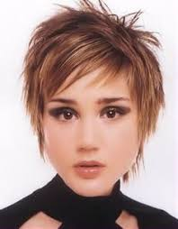 hi light fringe hairstyles how to hot asymmetrical with nice hi lights short haircuts pinterest