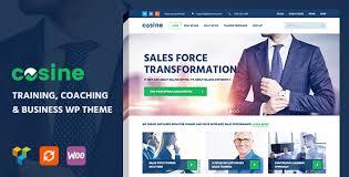 cosine v1 0 1 training coaching business wordpress theme