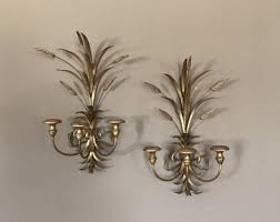 Candle Wall Sconces Candle Wall Sconce Etsy