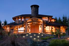 luxury log cabin plans a very unique log home murray arnott designs page the log home