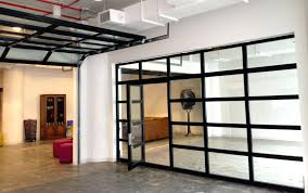 Glass Wall Doors by Insulated Glass Overhead Doors Garage Prices U2013 Venidami Us