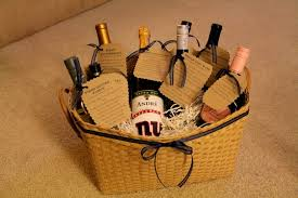 bridal shower gift basket ideas bridal shower gift idea wine basket with poems