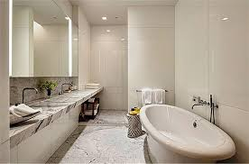 Heated Floors In Bathroom Ripa Home In Nyc A Look At One Of The Four Gorgeous Marble